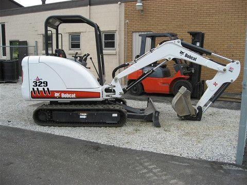 Bobcat 329 Compact Excavator Service Repair Workshop Manual