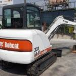 Bobcat 331, 331E, 334 Hydraulic Excavator (G Series) Service Repair Workshop Manual