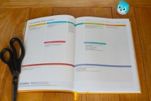 Daily Greatness Business Planner - business model canvas, two page spread
