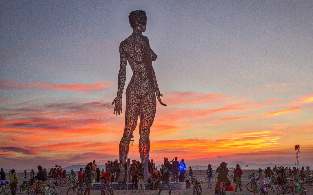 Statue of Naked Woman Is Blocked From National Mall
