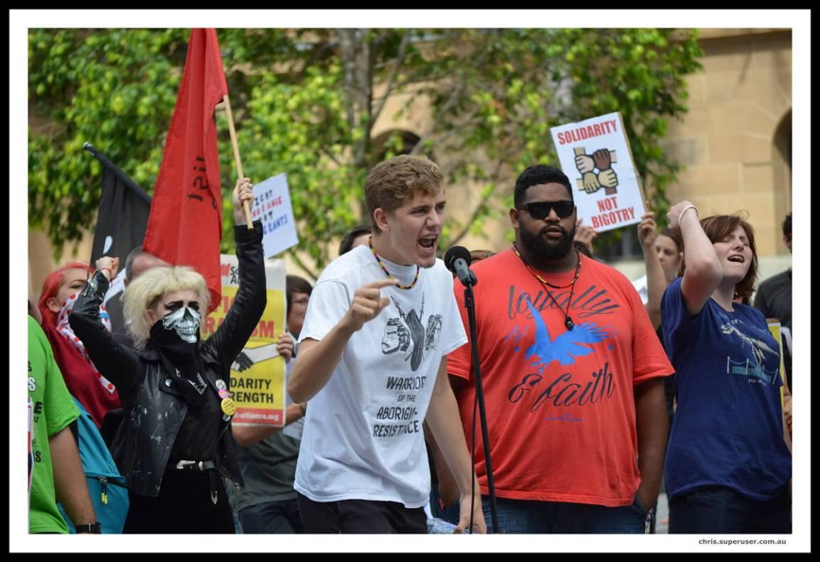 DSC_3352_v1 reclaim australia Protest Against Reclaim Australia DSC 3352 v1