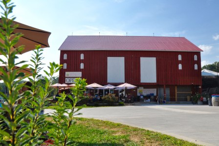 Before heading up to the trail, a stop at the winery for a glass of sangria is always a good idea.