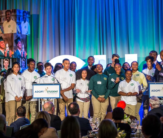 2018 Adopt A Student Foundation Partnership For Success Dinner At The Seaport Hotel Boston