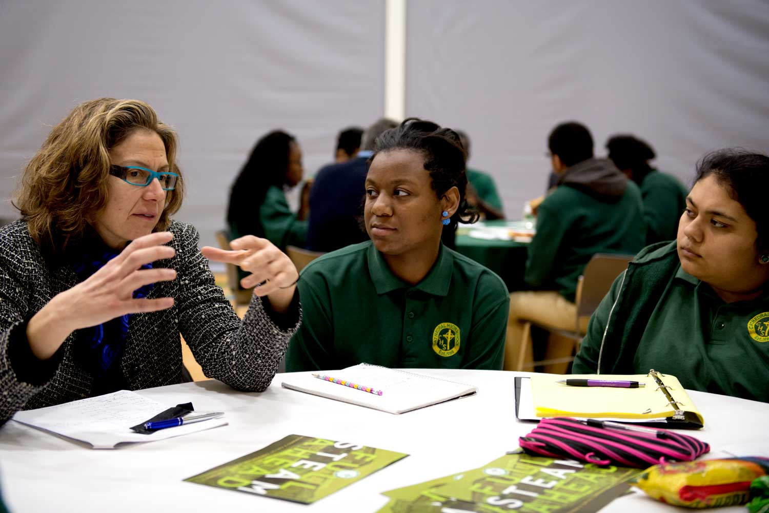 Students Learn Financial Literacy From Industry Professionals