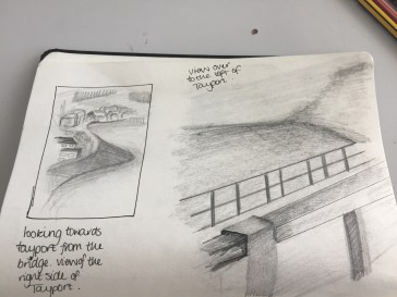 Sketching along the Tay