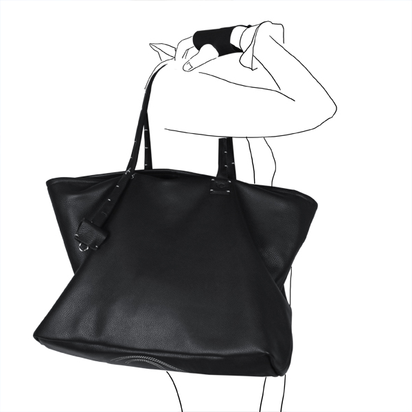 bag simpli-cube leather Catherine Loiret