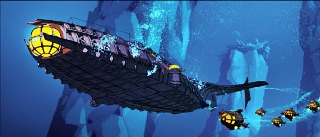 Atlantis sous-marin