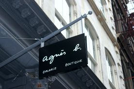 "Mehdi ""ZeeR"" did an art collaboration with the Agnés B store"