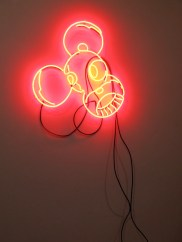 "MEHDI ""ZeeR"", Untitled 4/4, Neon, 24"""