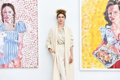 TALI LENNOX Layers of Life Opening Reception