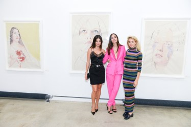 Julia Restoin Roitfeld, Rebecca Dayan, Sabine Getty