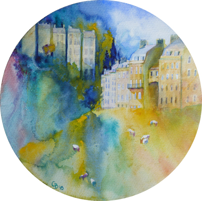 Bath Dreaming - giclee print available