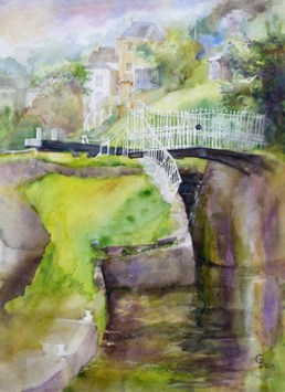 Bath Locks - giclee print available