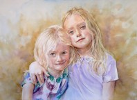 Gill sisters - commission