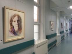 Royal United Hospital South Corridor Exhibition, Spring 2016