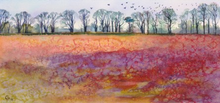 Rooks Rising (red) - giclee print available