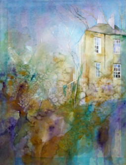 William Smith's house, watercolour