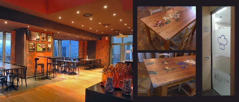 Projets Déco pour hôtels et restaurants