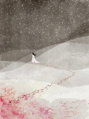 Blood Trailed in Snow