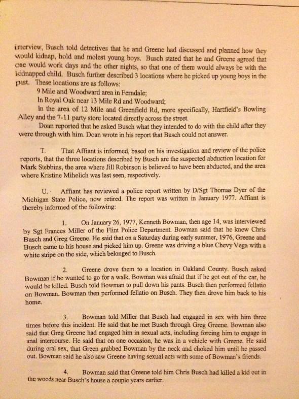 Search Warrant, p. 5 of 8