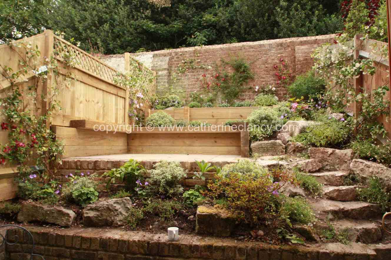 Greenwich terraced garden - Garden Design London ...