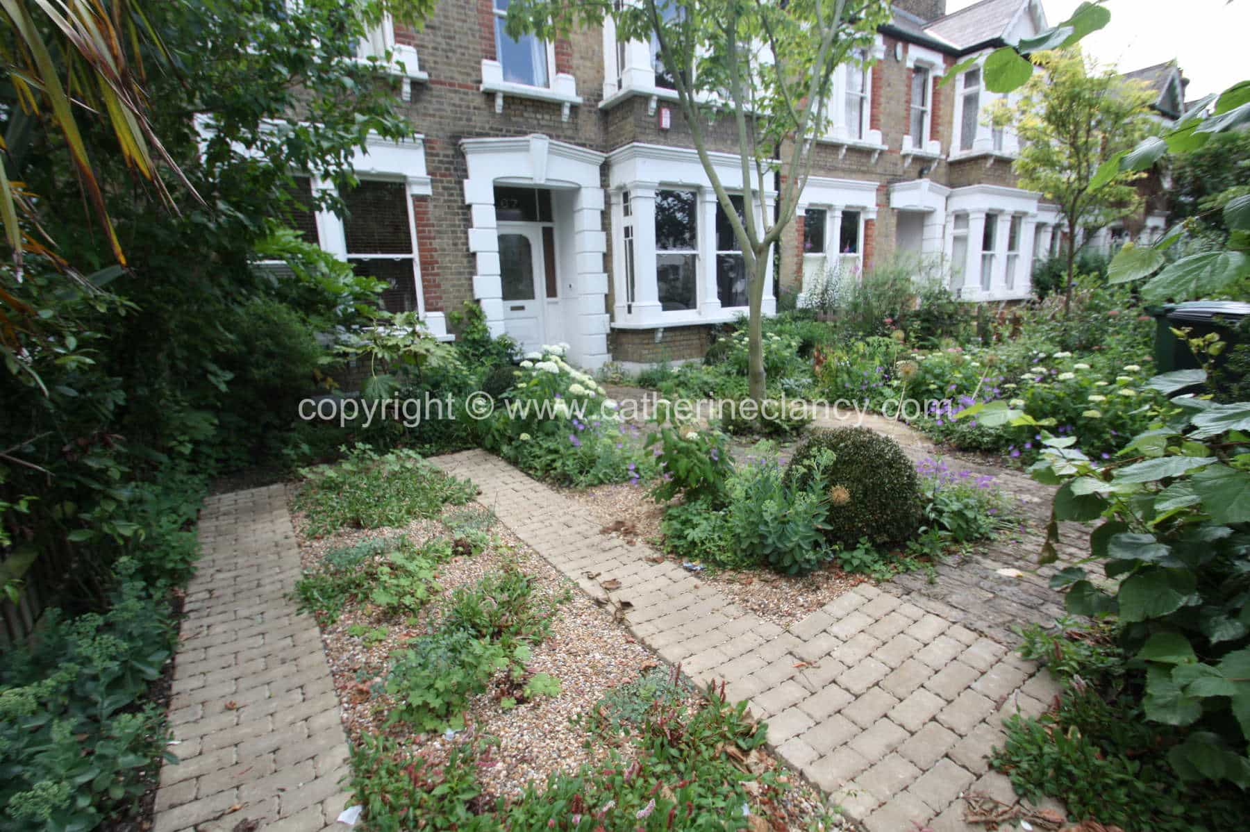 SuDS compliant Front Garden Garden Design London Catherine Clancy