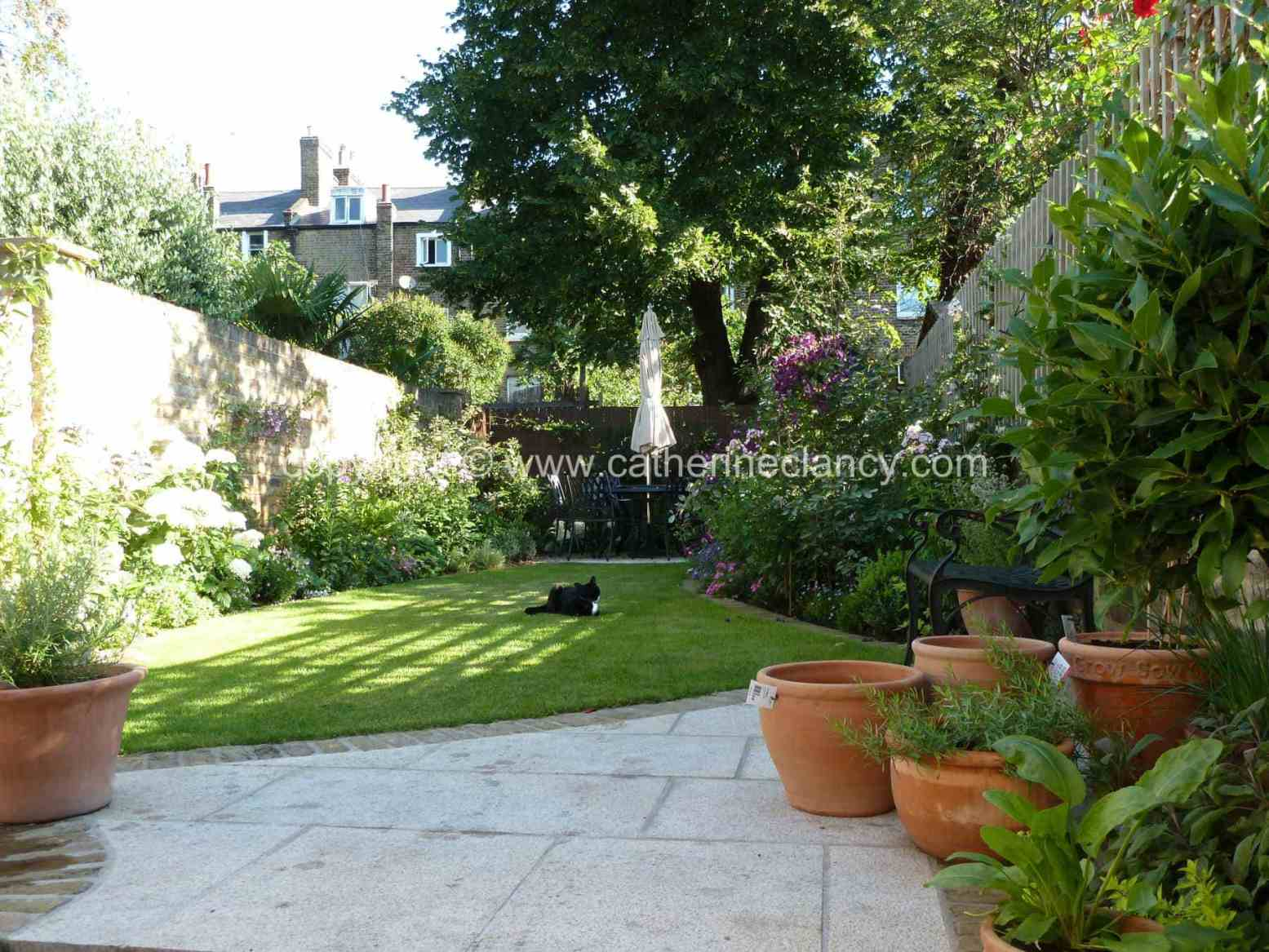 Victorian north facing garden garden design london for North facing back garden designs