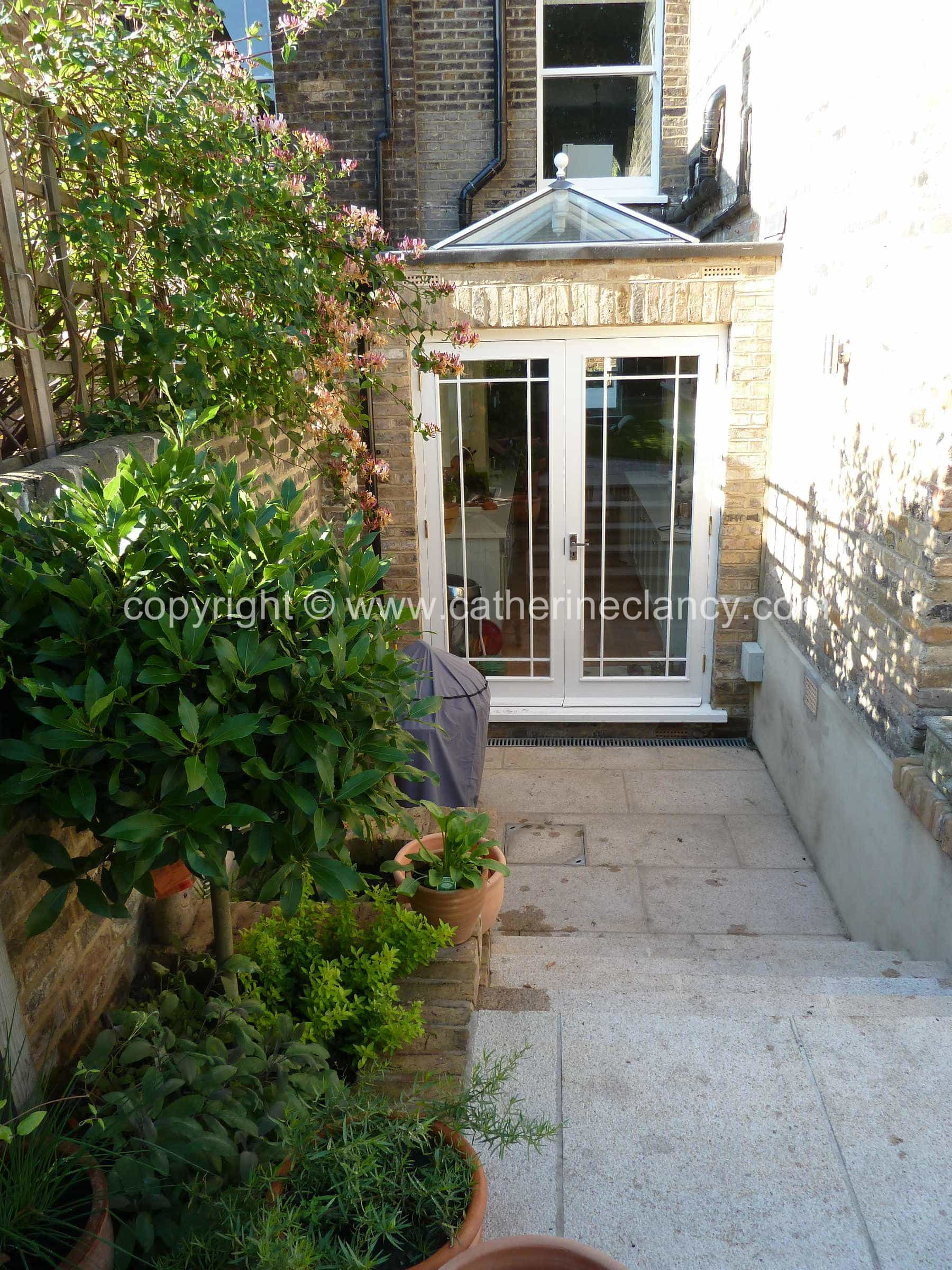 Garden Design North Facing victorian north facing garden - garden design london - catherine