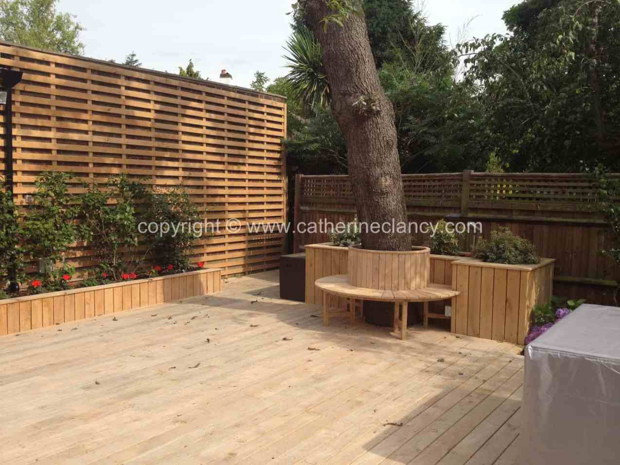 Deck Garden Garden Design London Catherine Clancy