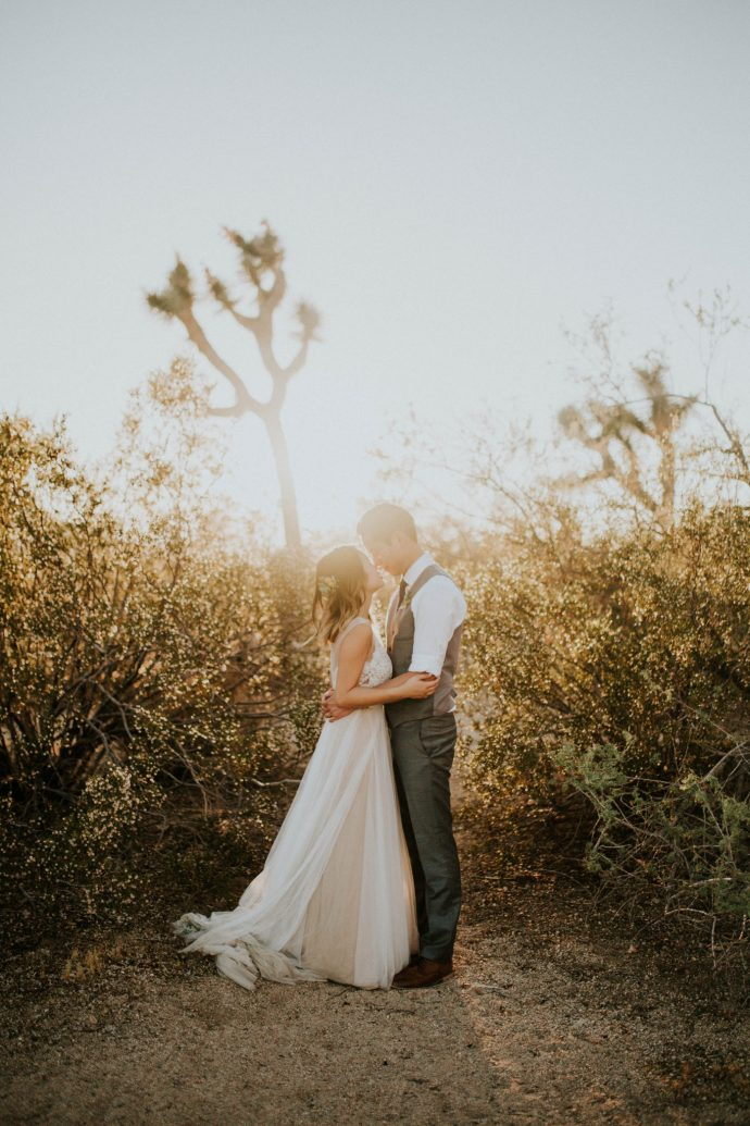 Mandy & Joey Joshua Tree Elopement California Wedding Photographer-213