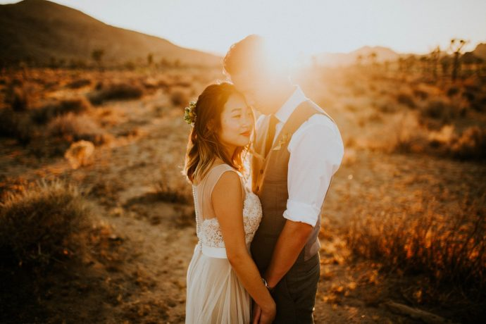 Mandy & Joey Joshua Tree Elopement California Wedding Photographer-248