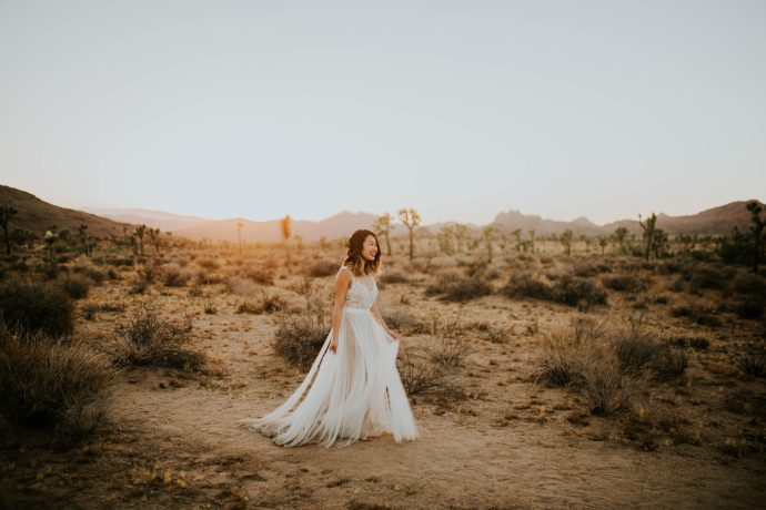 Mandy & Joey Joshua Tree Elopement California Wedding Photographer-278