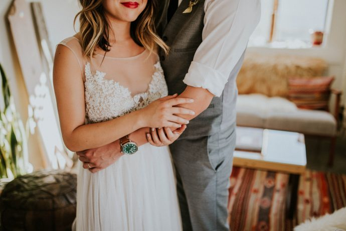 Mandy & Joey Joshua Tree Elopement California Wedding Photographer-55
