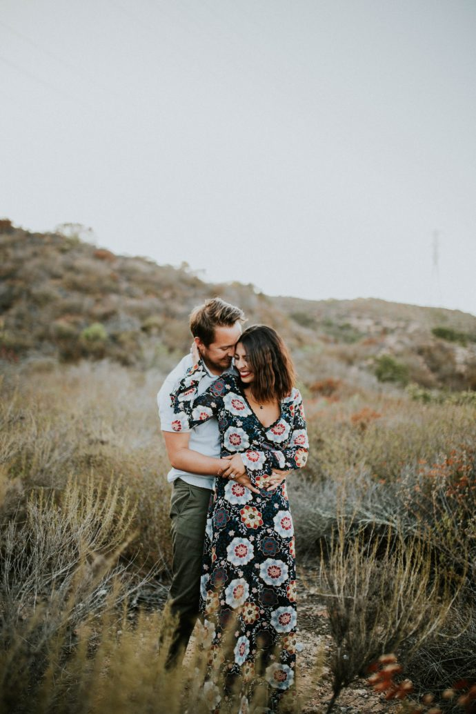 Valerie & Zach Laguna Canyon Couple Session-799