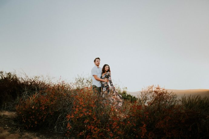 Valerie & Zach Laguna Canyon Couple Session-897