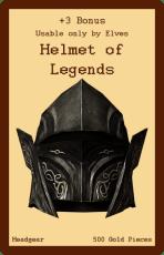 Headgear-Helmet of Legends