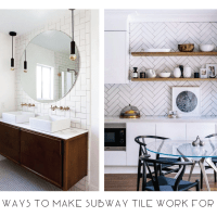 8 Ways to Make Subway Tiles Work For You