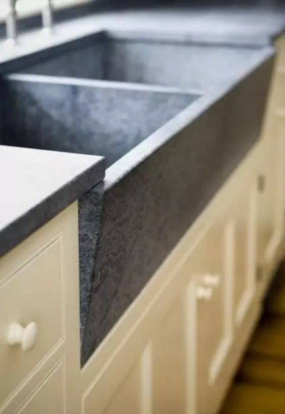 soapstone countertops maine with Kitchen Countertop Soapstone on Copper Dune Polished Granite Slab Random 1 1 4 also Small Cottage Kitchen Design Ideas also 58 together with Amazing Farmhouse Sinks To Make Your Kitchen Pop besides Plumbing.