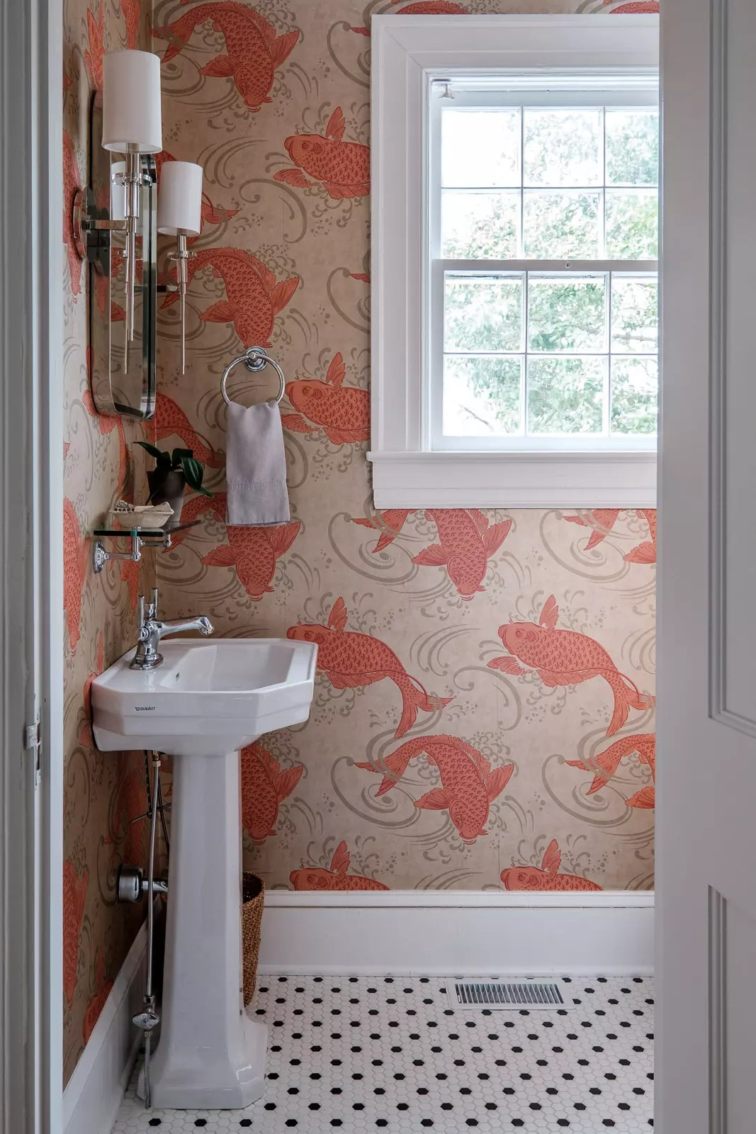 Koi wallpaper - interior designer