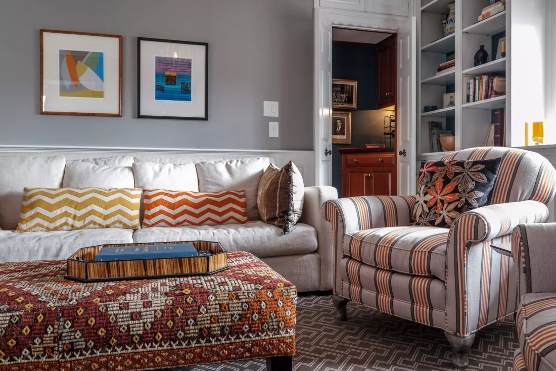 Patterns, texture, and color combinations - interior design