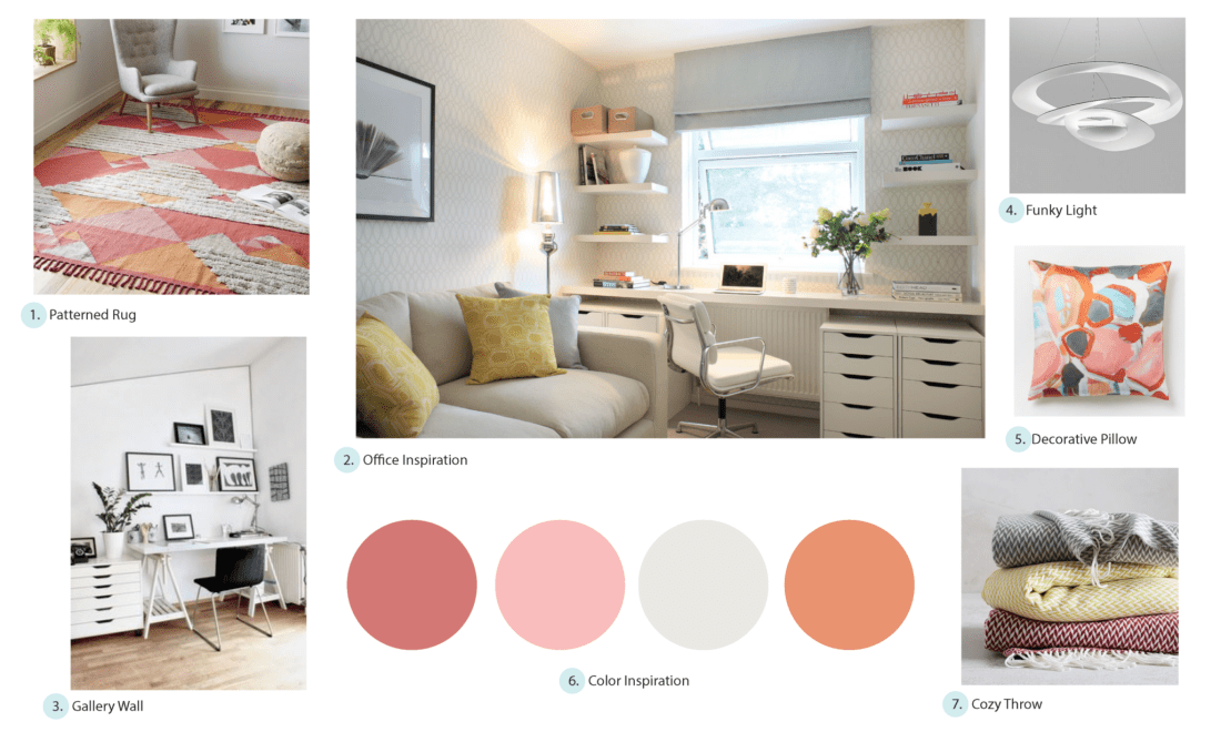E-Design Inspiration Moodboard