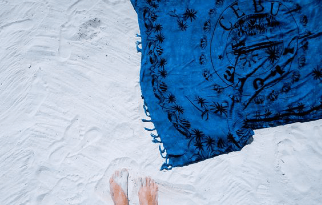 Indigo Beach Throw