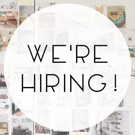 We're Hiring an Interior Designer