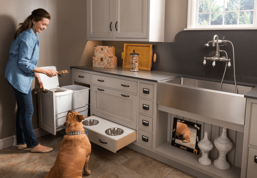 Custom cabinetry for pet lovers