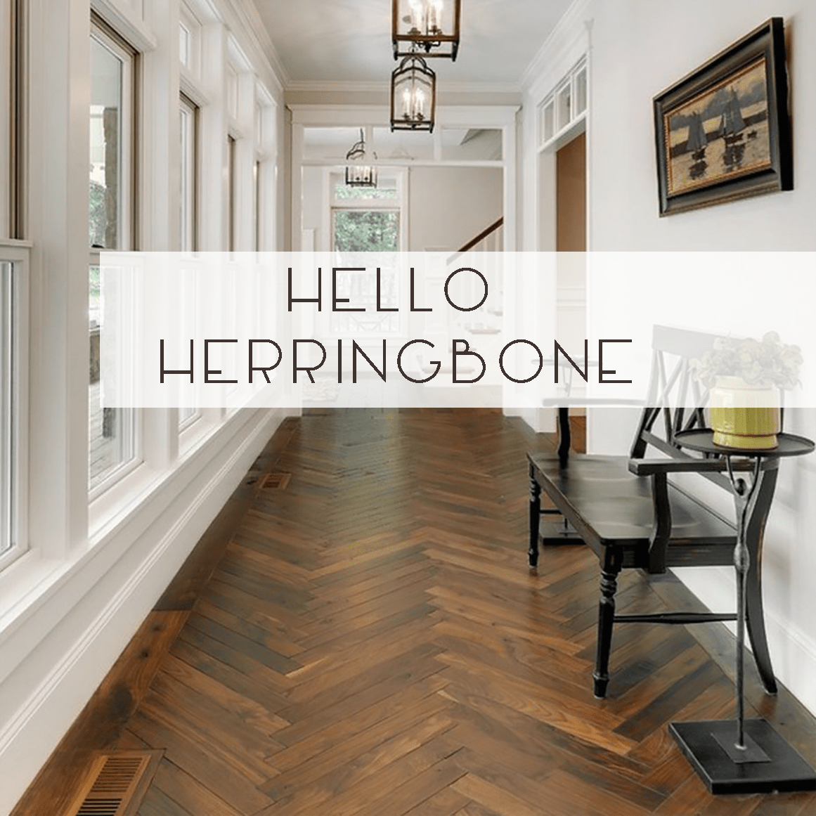 Herringbone Flooring Ideas