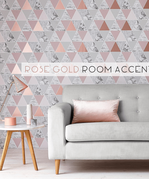 How to do Rose Gold accents in your space