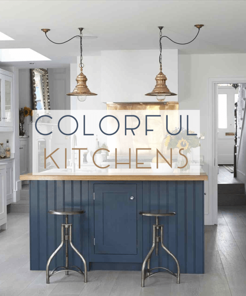 5 Navy and Gray Kitchens - Catherine French Design