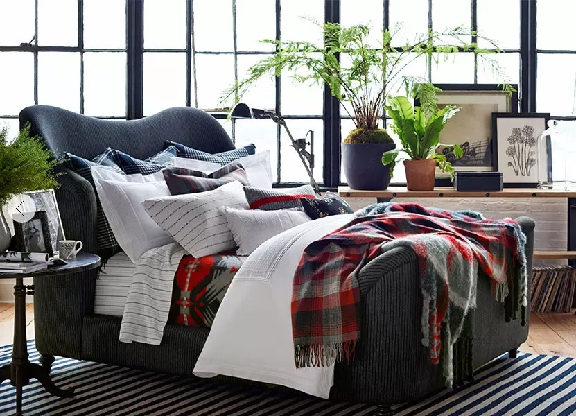 Tartan Bedding - Catherine French Design