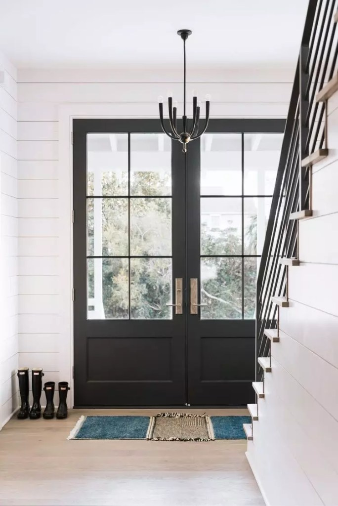 Color Crush: Black - Interior Door