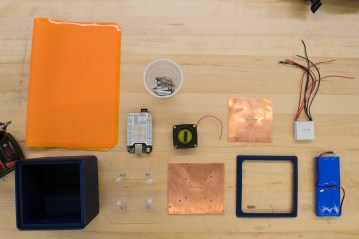 The components of a BeatBox prototype